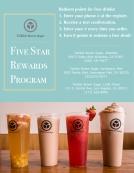 V4 Rewards signage